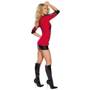 Kırmızı Gece Elbisesi