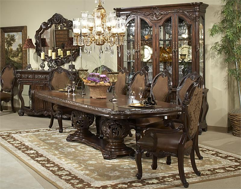 Great Room · Manor Essex Dining Room | Aico Furniture ...