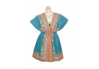 Blue Plate Turquoise Beach Dress  $62.00 ♛♥SJJ♥♛