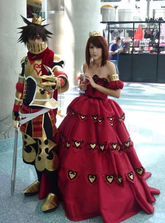 King Sora and Queen Kairi! this is absolutely amazing!