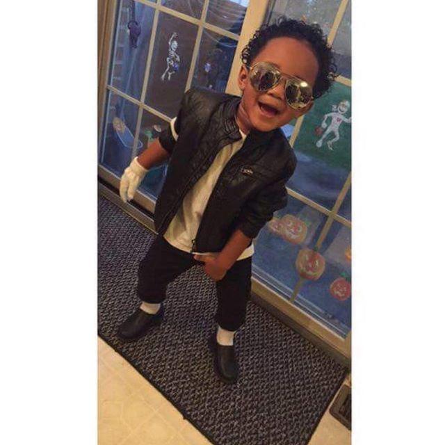 baby boy fashion halloween costume Michael Jackson Fall