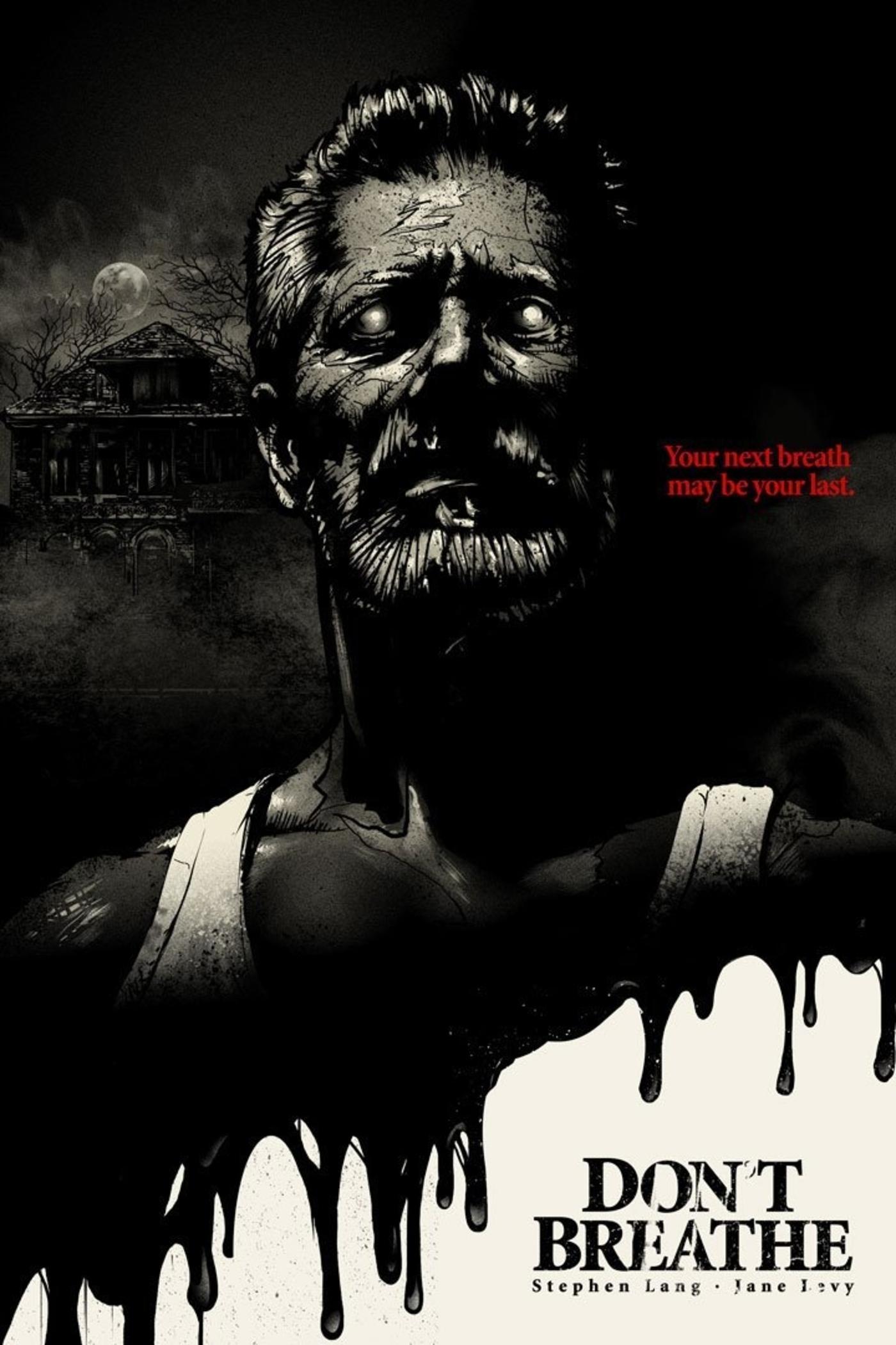 Don T Breathe 2016 1400 2100 By Paul Ainsworth Carteles De Cine Cine De Terror Poster De Cine