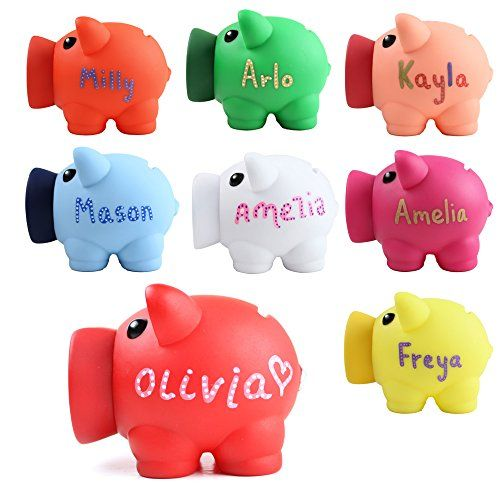 Personalised piggy bank money box coins children saving https easter gift personalised piggy bank money box coins children saving any name negle Image collections