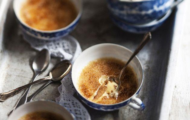 Crème brûlée maa-artisokasta Masterchef Kiran tapaan - Ruoka.fi