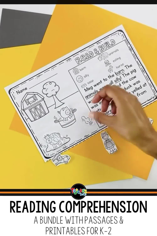 Reading Comprehension Passages Printables Bundle Video Video Reading Comprehension Reading Comprehension Practice Comprehension Passage [ 1500 x 1000 Pixel ]