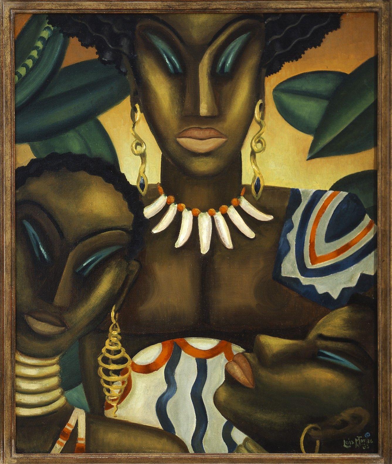 Africa by Lois Mailou Jones 1935 Oil on canvas Lois Mailou Jones