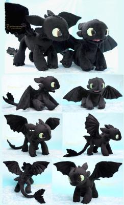 Plush How To Train Your Dragon Plushie Handmade Stuffed Animal Httyd