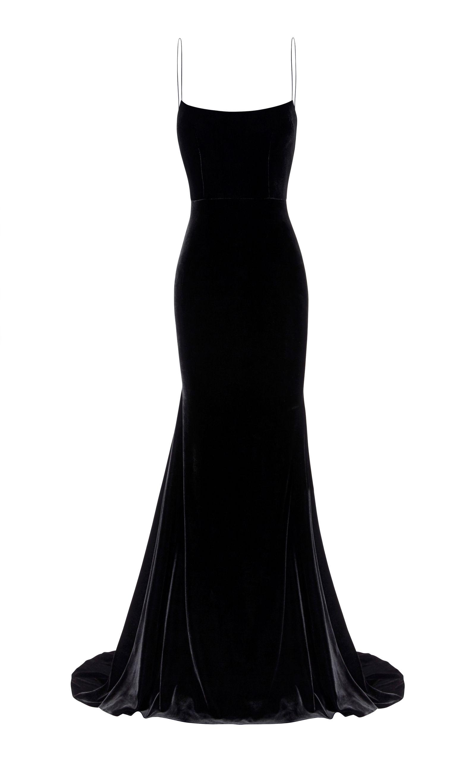 Kim Velvet Slip Dress by ALEX PERRY for Preorder on Moda Operandi ...