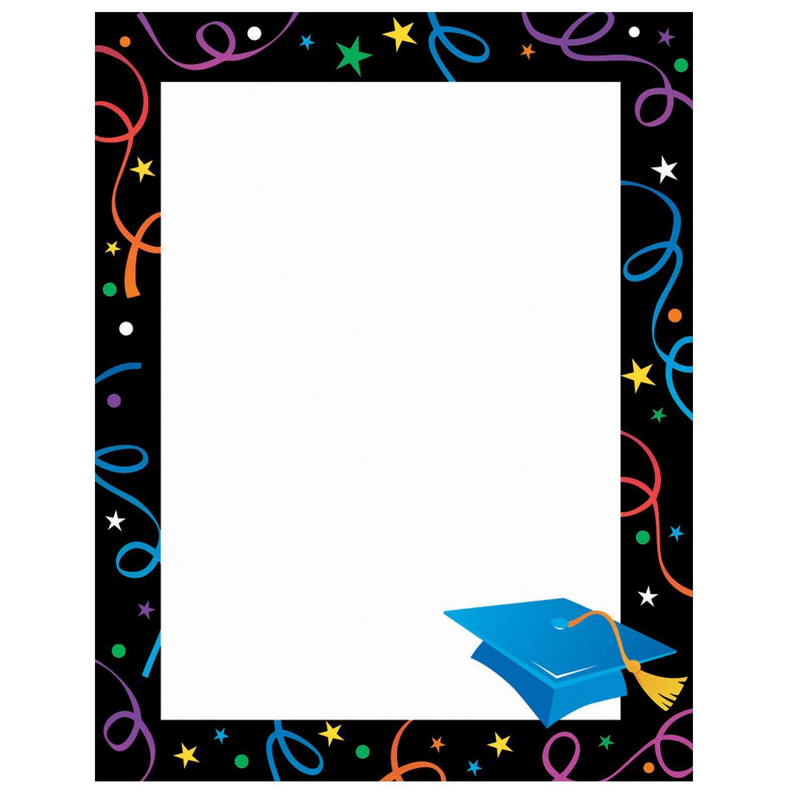 Preschool border page border - Graduation Border Png Clipart Best Clipart Best