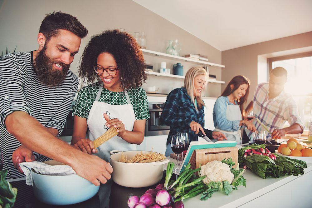 Virtual Valentine S Cooking Class Romantic Couples Date Ideas Mcp Corporate Team Building Activities Outing Ideas Team Building Activities
