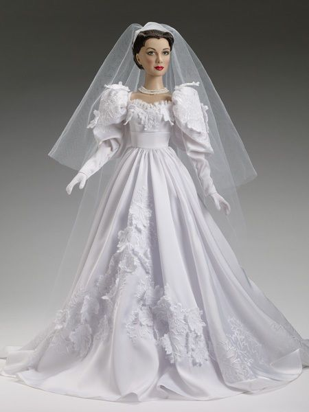 """Tonner 22"""" SCARLETT'S WEDDING DAY Dressed Doll NRFB Gone With the Wind #DollswithClothingAccessories"""
