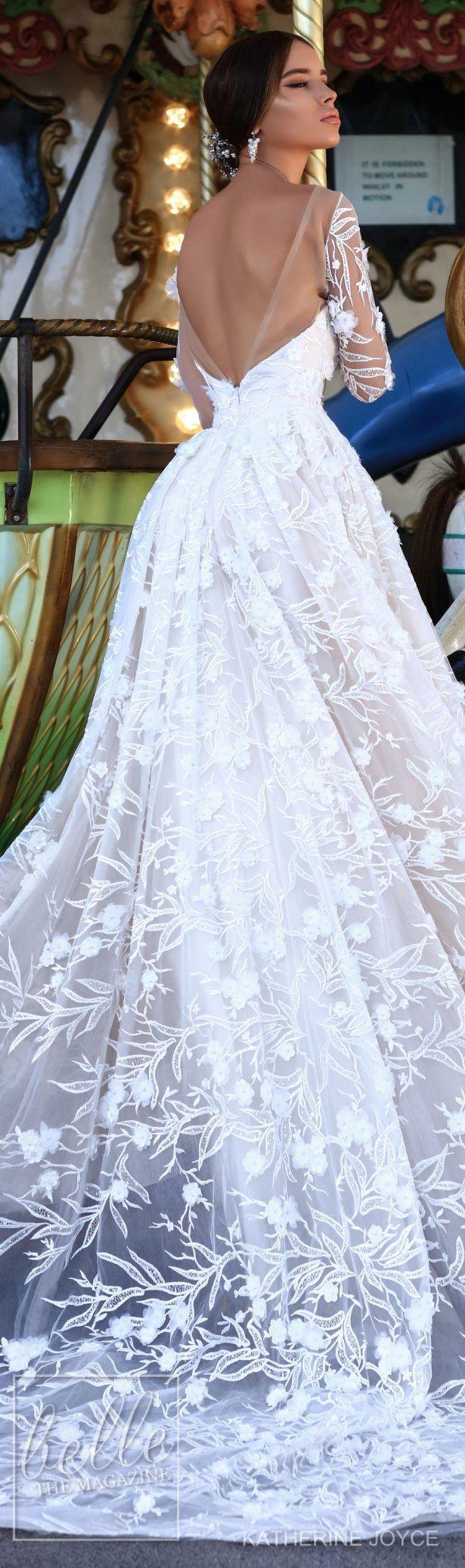 Green and white wedding dress  Wedding Dresses by Katherine Joyce Bridal Ma Cheri Collection