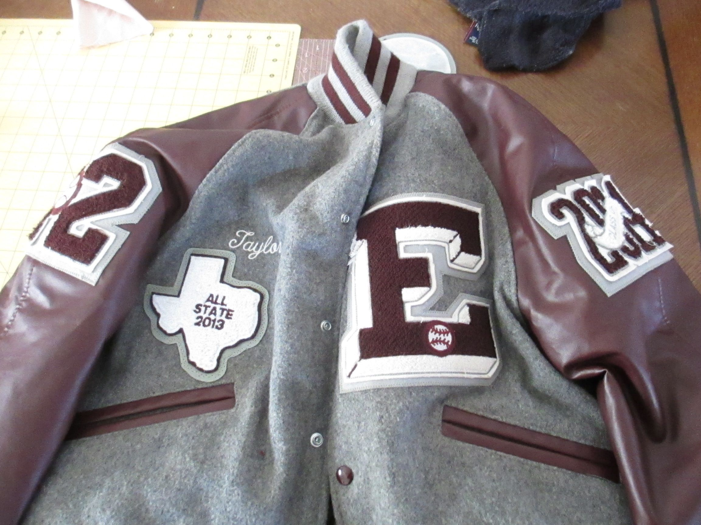 letter jacket patches letterman jacket for ennis high school jacket patches 22892