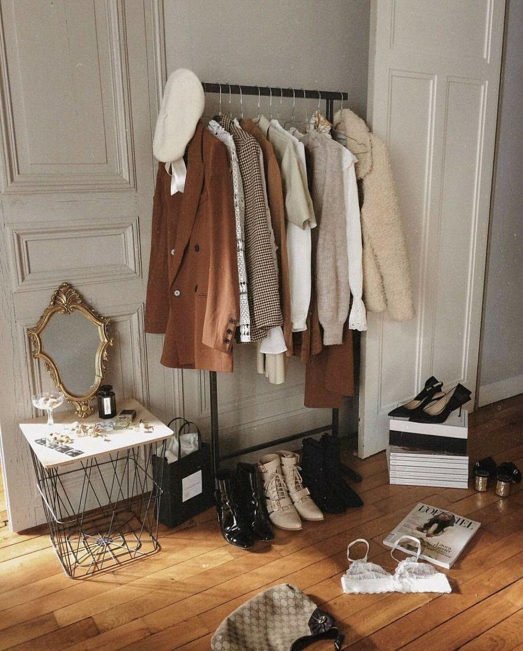 Winter Wardrobe Palette Palette Wardrobe Winter Bedroomvintage In 2020 Dressing Room Design Aesthetic Rooms Home