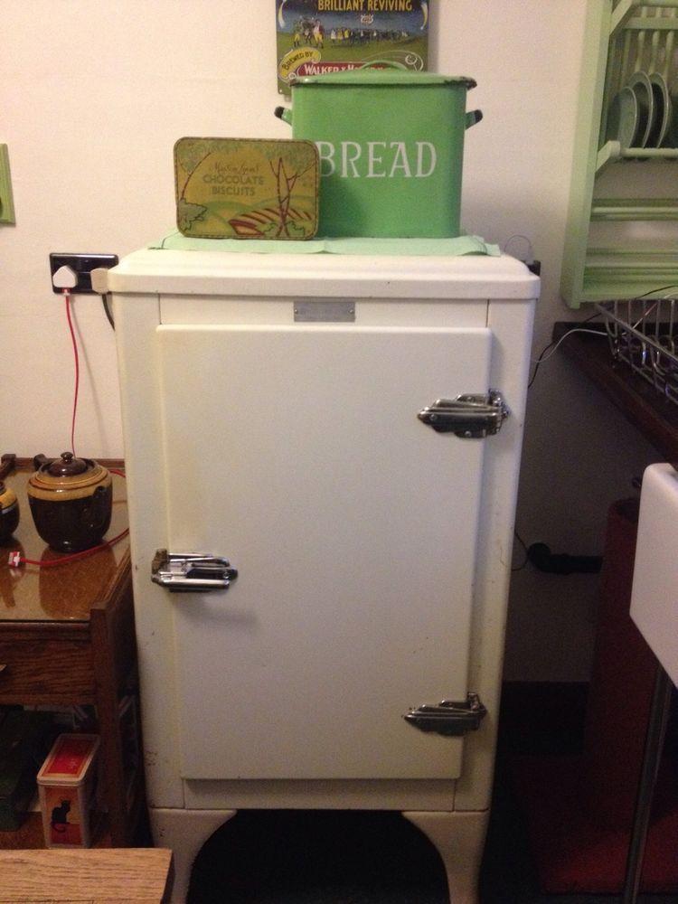 electrolux gas fridge. vintage art deco 1930s electrolux fridge gas