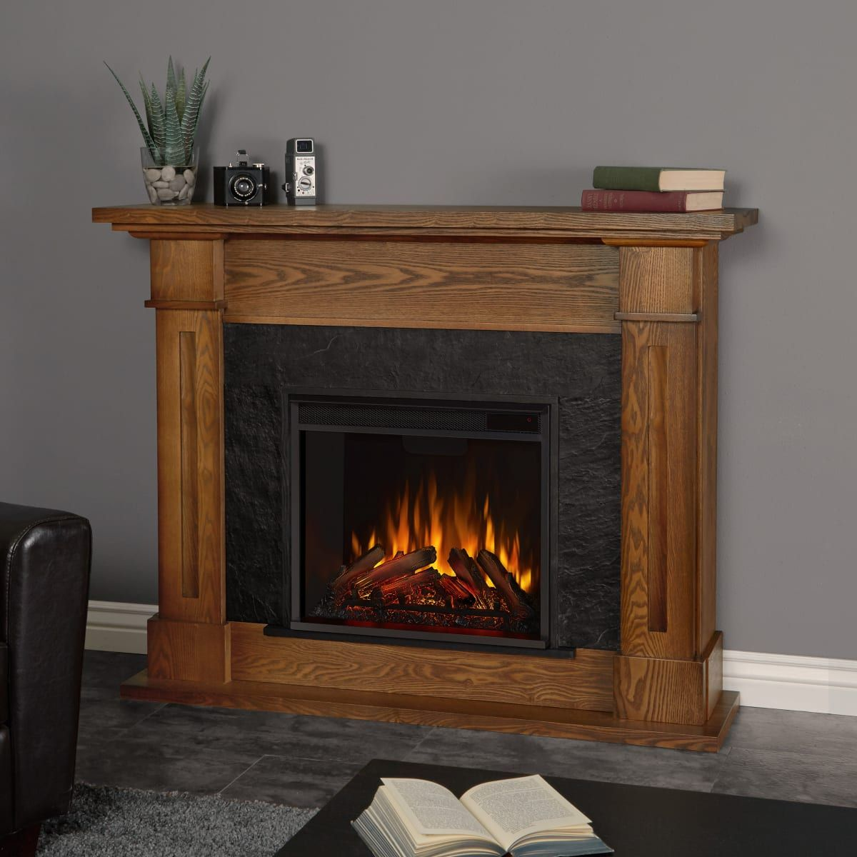 Real Flame 6030e Build Com In 2021 Electric Fireplace Oak Electric Fireplace Electric Fireplace With Mantel