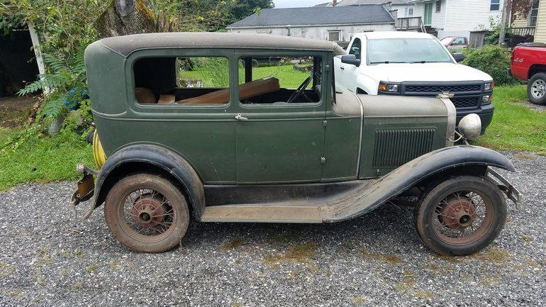 1930 Ford Model A 2 Door Sedan Ford Models Car Model Ford