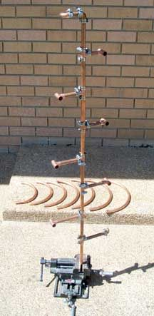 Image Detail For  How To Make Your Own Copper Pipe Garden Ornaments