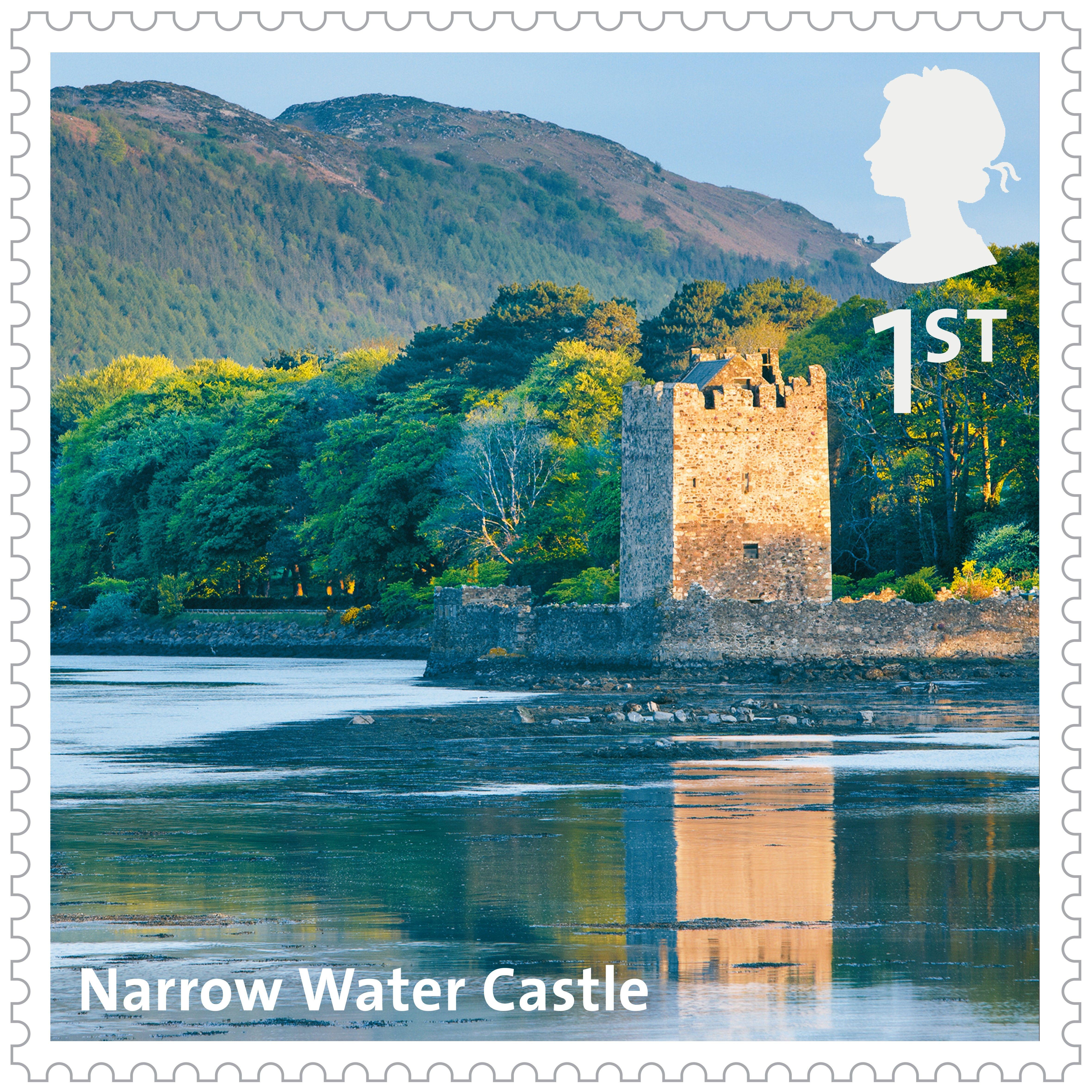 UK AZ Stamps Narrow Water Castle Uk stamps, Britain