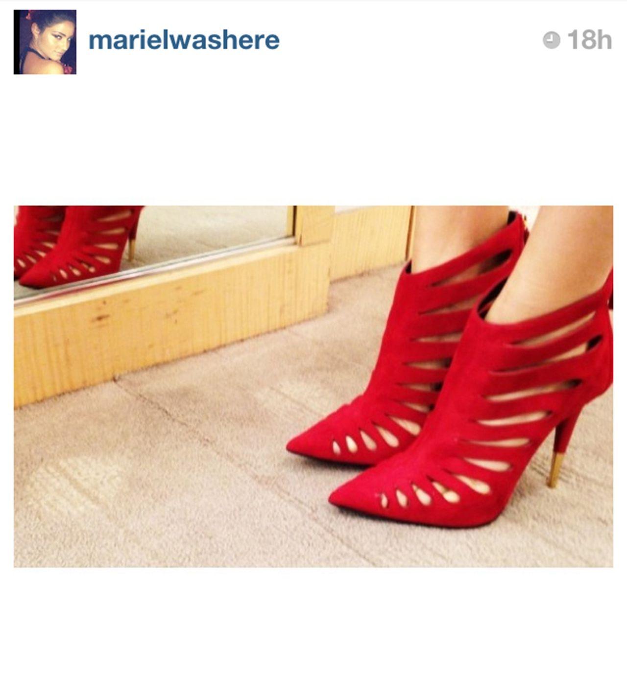 Celebrity Stylist Mariel Haenn in Giuseppe Zanotti: 20 Best Celebrity Shoe Instagrams - Lookbooks, Photos   ModaMob