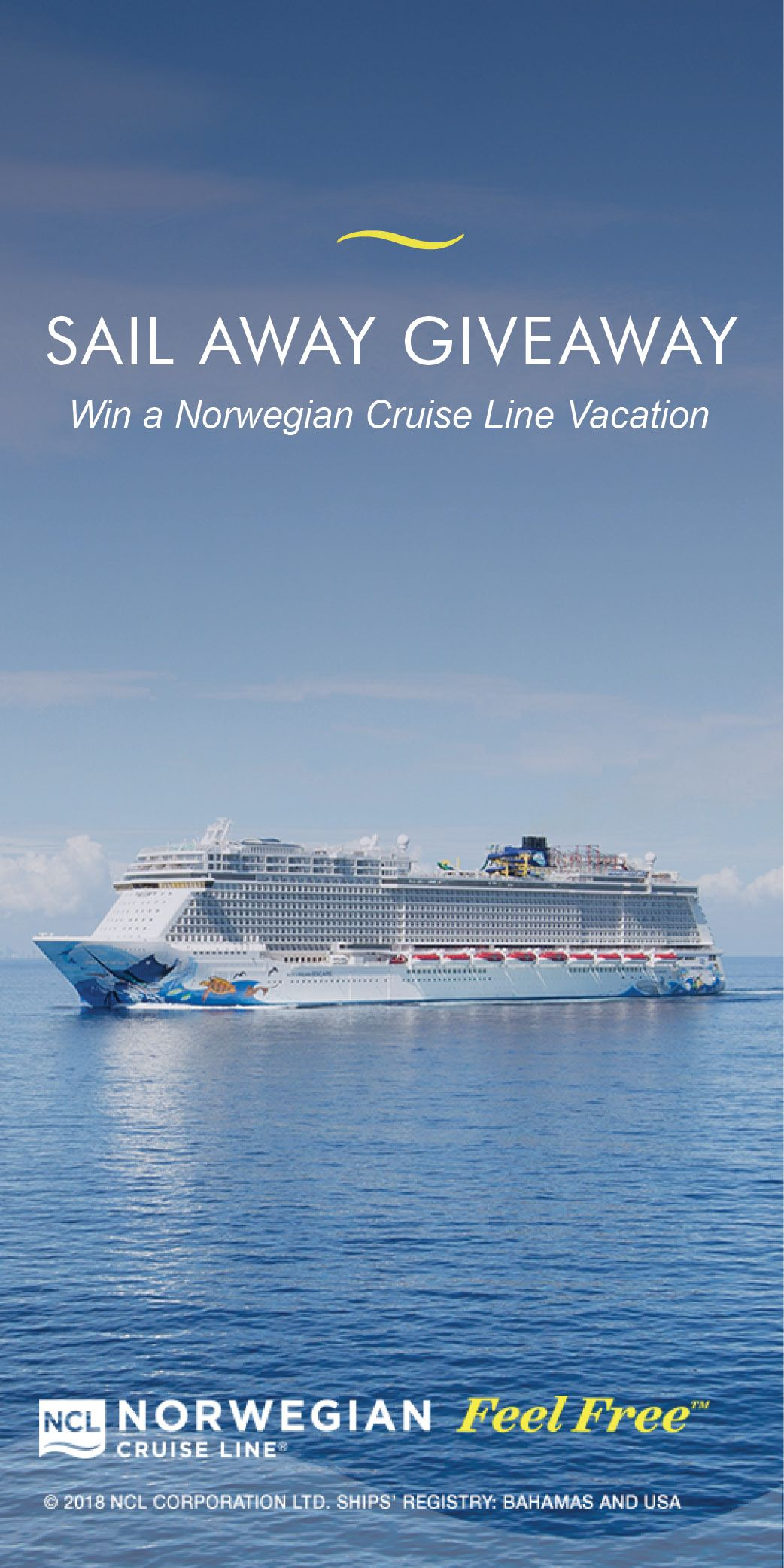 Enter Now For A Chance To Win A 3 000 Norwegian Cruise Line Gift