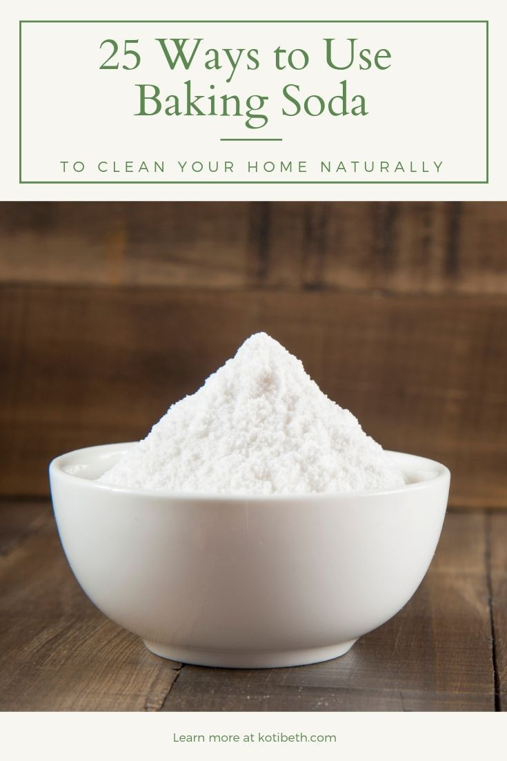 Cleaning with baking soda how and why to use this natural