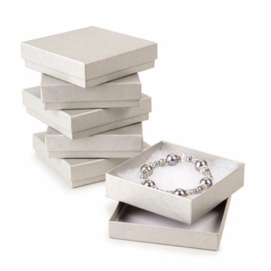 Jewelry Gift Boxes Cotton Filled Cotton and Products