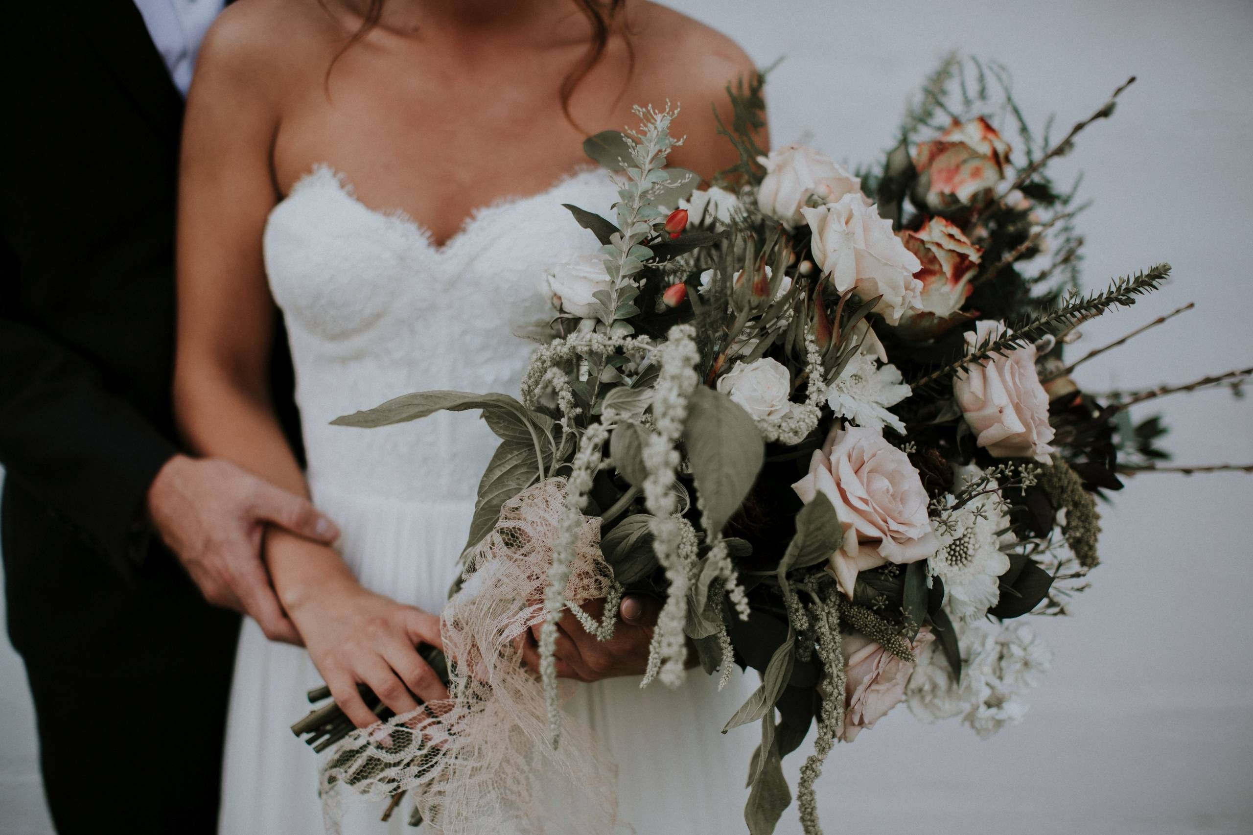 Boho Meets Country Wedding Kendra Wallace Bridal Bouquet Pink