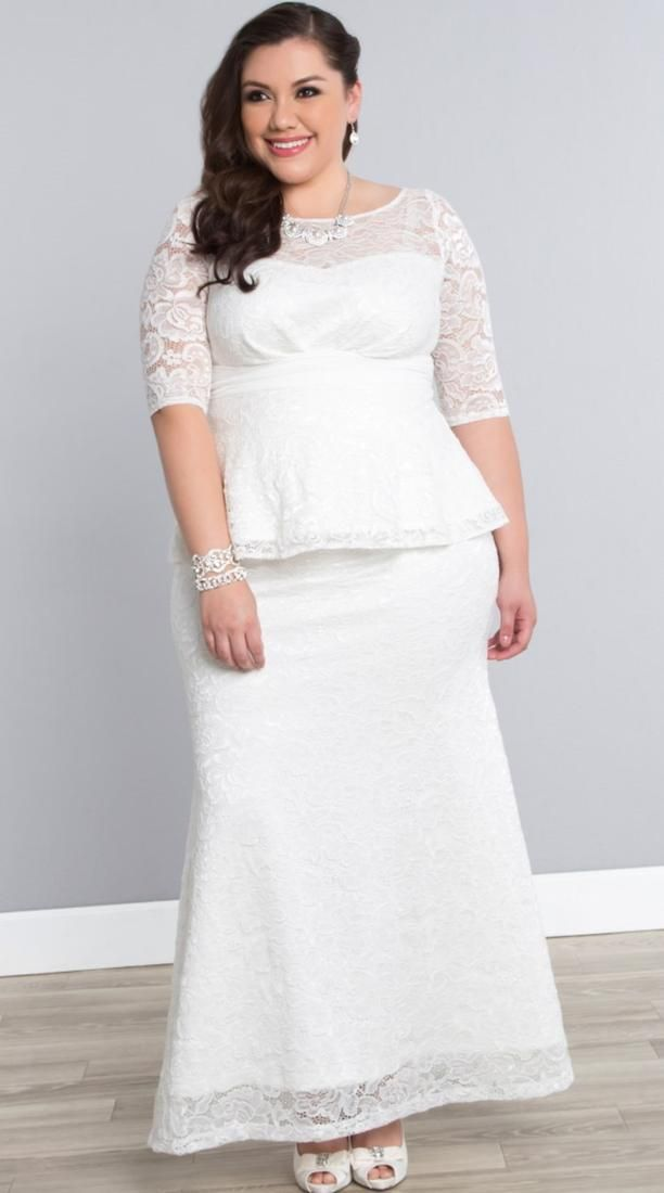 Wedding Dresses For Older Brides Plus Size Boutique | WEDDINGS ...