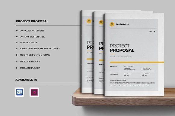 Project Proposal By Occy Design On Creativemarket Proposal