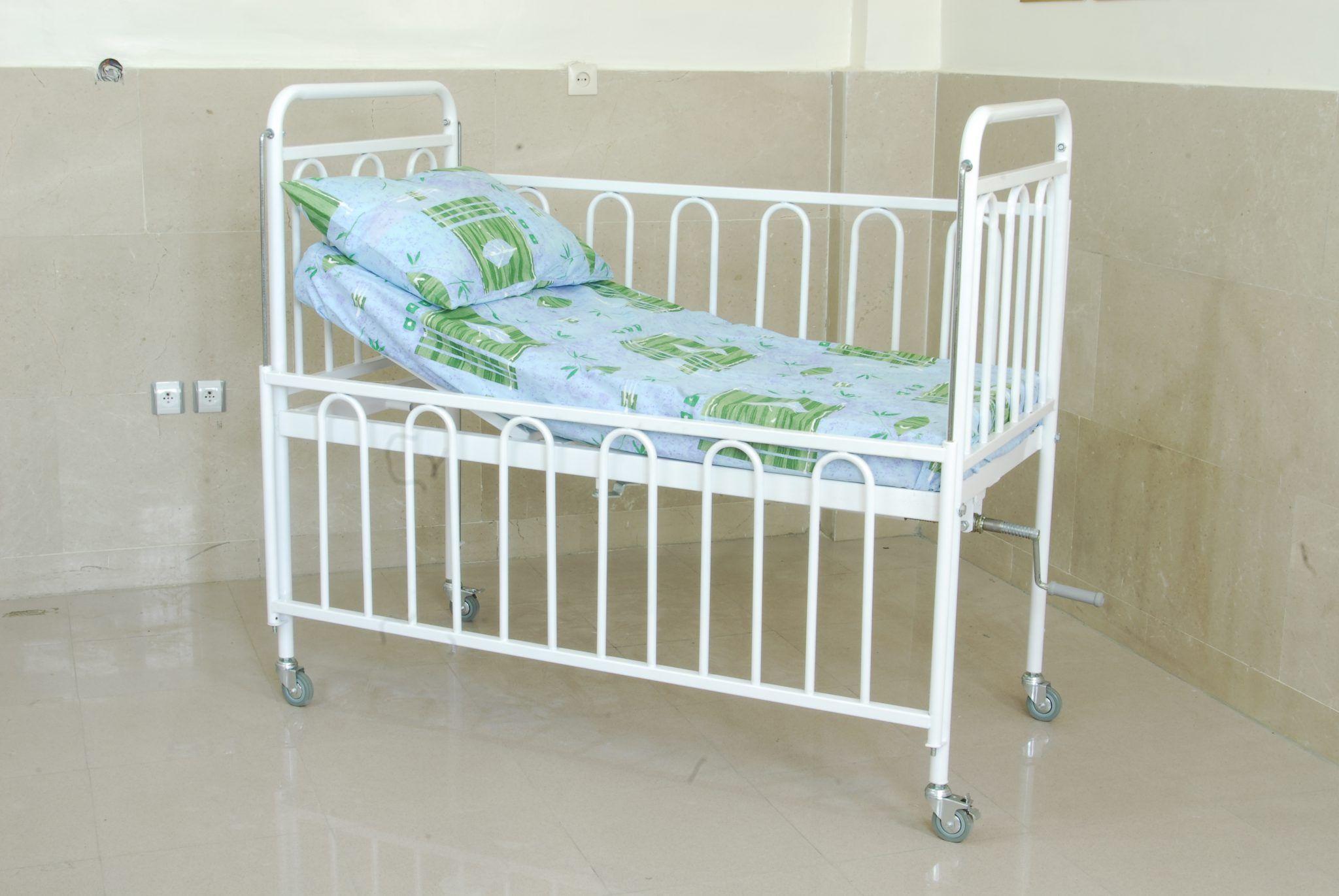 تخت بیمارستانی اطفال مدل B10 Cama Cama Hospitalar