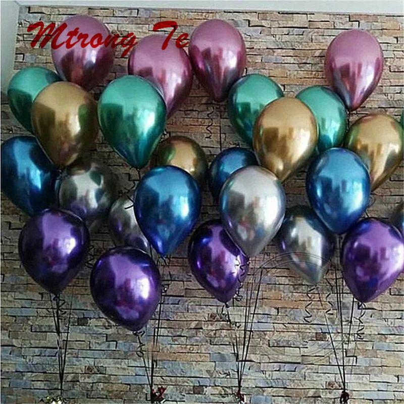 "25//50pcs 12/"" Birthday Wedding Party Decor Latex Helium Quality Balloons New"