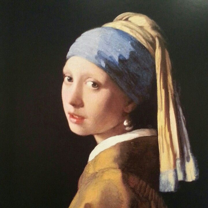 Girl with a Pearl Earing.  #colorpalette#meaningful#dutchgoldenage#vermeer#masterpiece