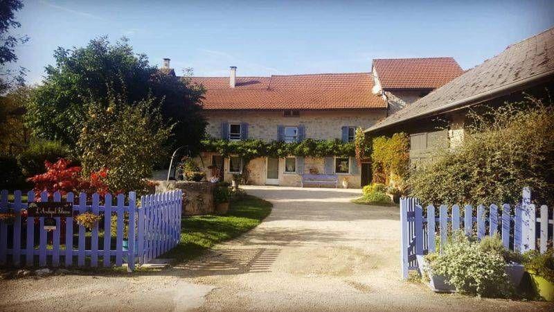 Archipel Foliaire 01350 Ceyzerieu Gite Rural Gite De France Grande Chambre