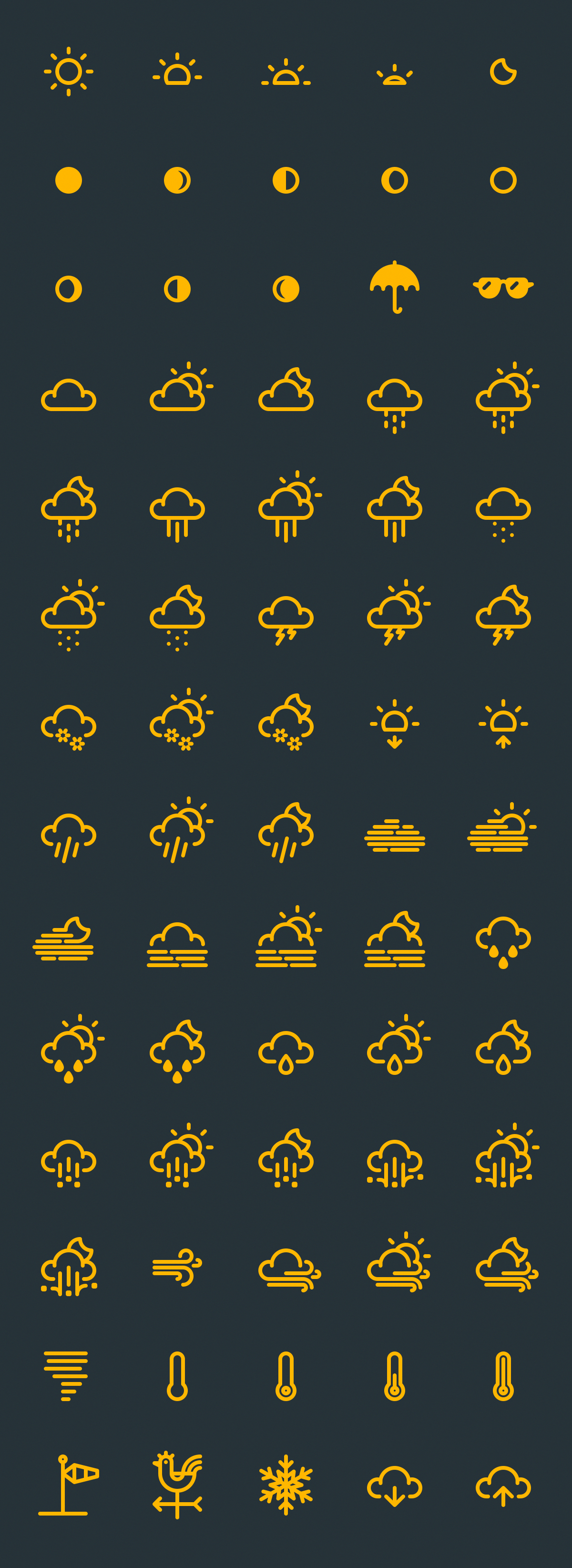 Free weather vector icons designawebsite new race u game concepts