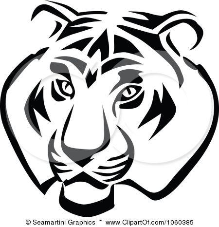 royalty free vector clip art illustration of a tiger head logo 1 rh pinterest com lsu new tiger head logo tiger head logo png