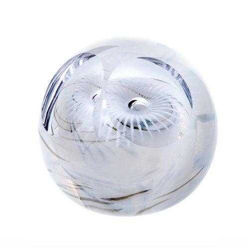 Caithness Glass Schnee-Eule Briefbeschwerer, bunt Caithne...…