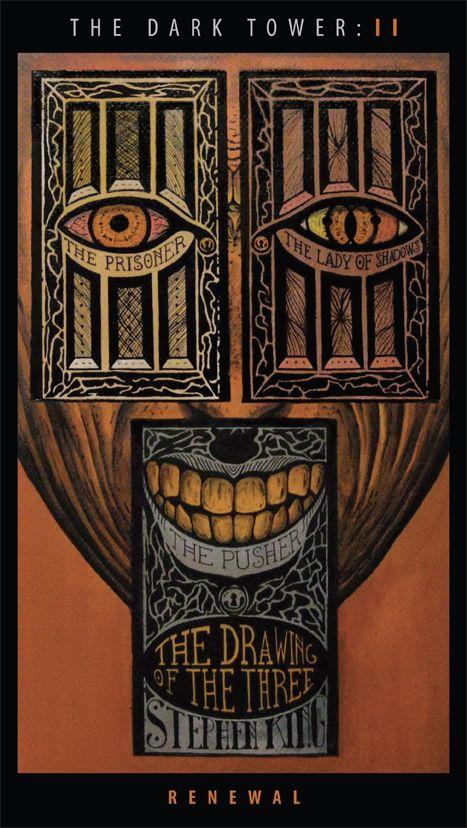 Fiktives Buchcover Zu Band 2 Der Dunkle Turm Stephen King Dunkelheit