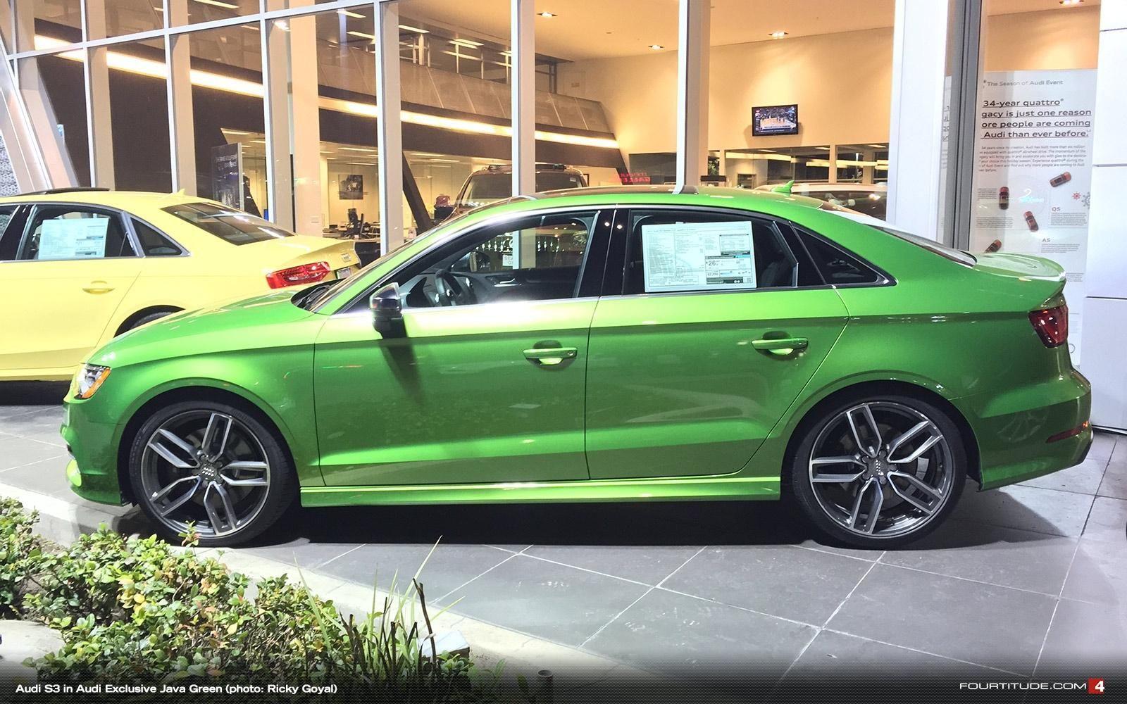 Audi Exclusive Java Green Metallic | Green - Colors We <3 | Audi