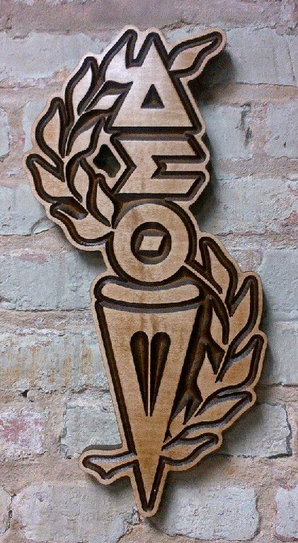 Delta Sigma Theta Wooden Torch Lady Fortitude Pinterest