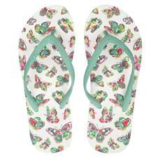 Cath Kidston butterfly thongs