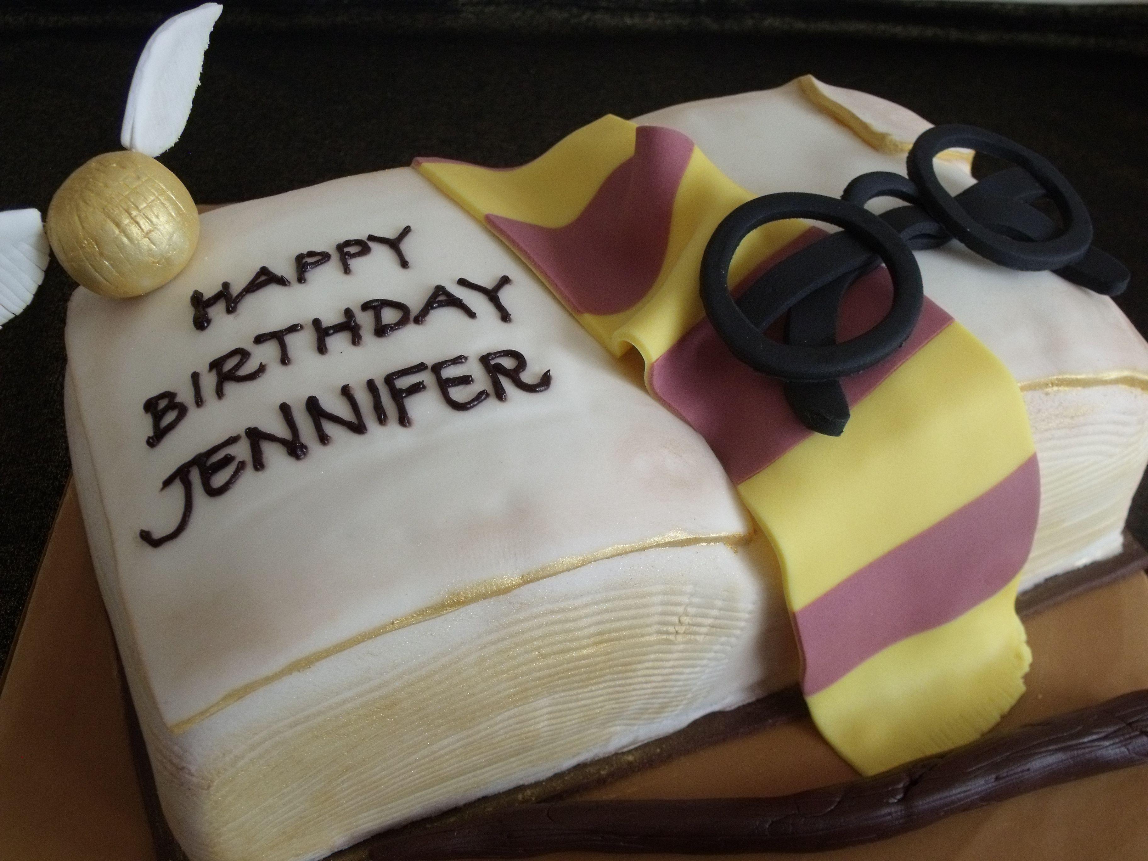 Harry Potter Birthday cake Mom My birthday is coming up My