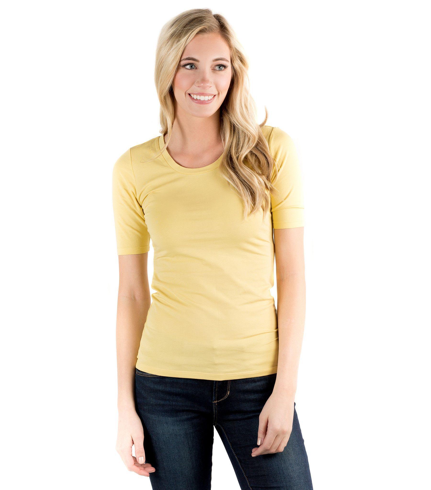 Essential Half Sleeve Tee - Vibrant Colors   Half sleeve ...