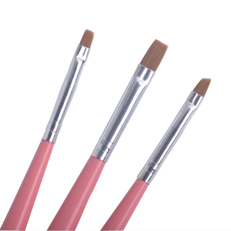 Fengshangmei 9pcs Nail Brushes Set Nail Art Painting Pen