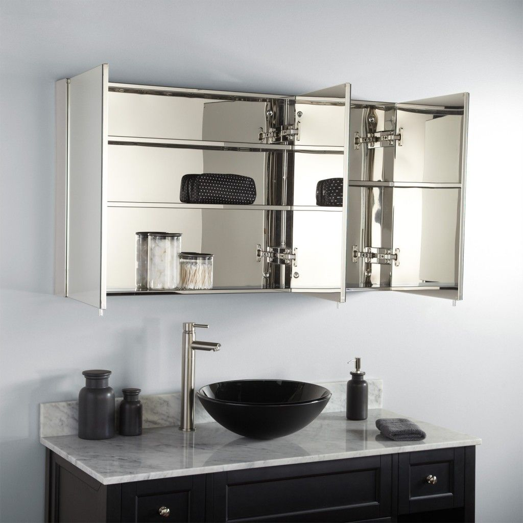 21 Bathroom Mirror Ideas to Inspire Your Home Refresh : modern-bathroom-mirror-ideas - designwebi.com