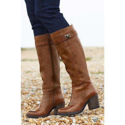 Bottes France mode marron femme CAPTIF 63323