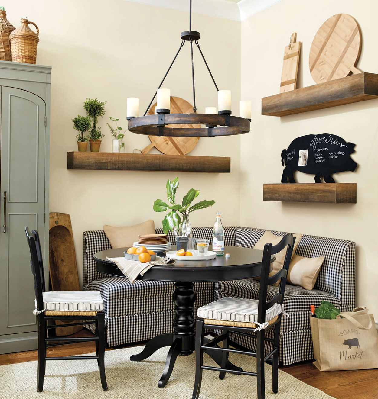 21 Corner Dining Sets Designs Decorating Ideas: Dining Room Decorating Ideas