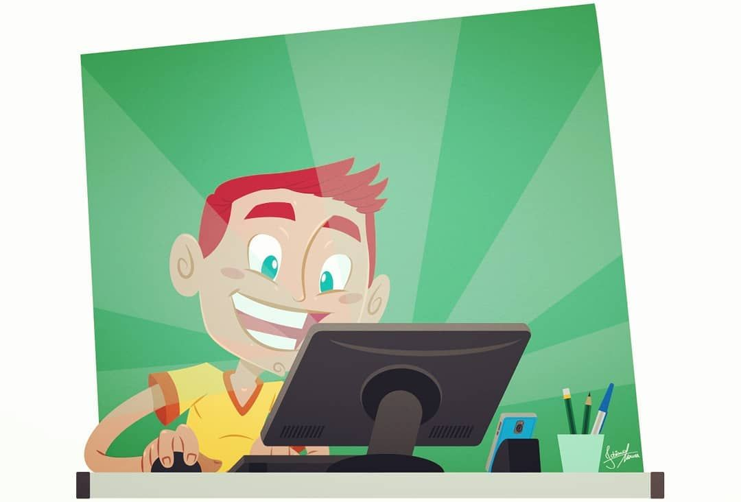 estudar #estudantes #navegar #internet #computador #monitor ...