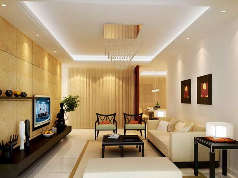 Use indirect lighting to give your living room a soft glow. #lightingtips | Home  lighting, Led lighting home, Living room designs