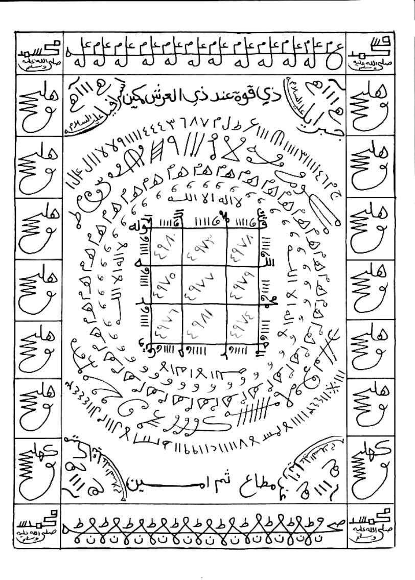كتاب الكنوز النورانية